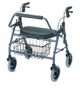 Photo of a Bariatric Four-Wheeled Rollator Walker