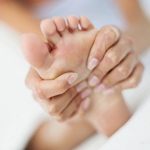 Photo of a healthy foot