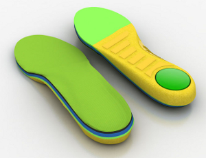 Photo of a pair of insoles