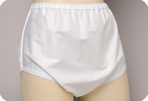 Salk Sani-Pant Pull-on Plasticized Nylon Brief for Men and Women - Small