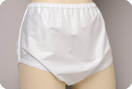 Salk Sani-Pant Pull-on Plasticized Nylon Brief for Men and Women - X-Large
