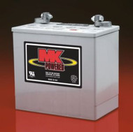 MK Sealed Heavy Duty Gel Battery - One Pair - M22NF SLD G