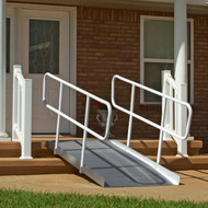 PVI OnTrac Ramp with Handrails- 8'