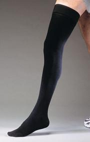 Jobst for Men Thigh Socks (15-20 mmHg) - Small - Black