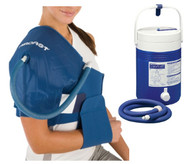 Aircast Cryo/Cuff Gravity Cooler - Shoulder