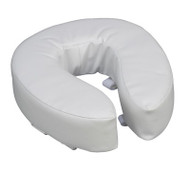 "DMI Vinyl Cushion Toilet Seat - 4"" of ACG Medical Supply in Rowlett, TX"