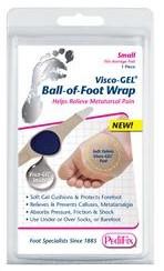 PediFix Visco-GEL Ball-of-Foot Wrap - Small