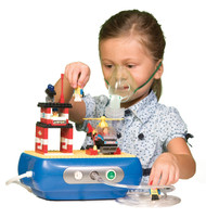 Drive Townhouse Interactive Building Block Compressor Nebulizer