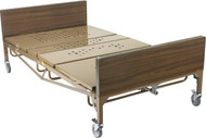 Drive Full Electric Heavy Duty Hospital Bed PAckage With Rails and Foam Mattress 48""