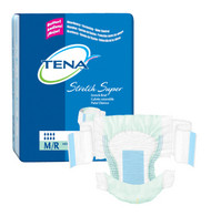 TENA Super Stretch Nighttime Briefs - Medium