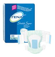 TENA Super Stretch Nighttime Briefs - Large/X-Large