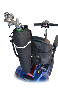 Diestco Oxygen E-Tank Holder for Electric Scooters and Power Wheelchairs