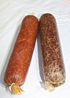 Large Venison Salami - 18 Inches