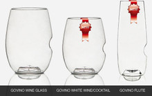 Set of 12 glasses- 4 of each