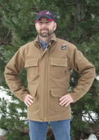 Our Grizzly Wear™ FR coat made from Indura UltraSoft® Duck offers many customizable options and has a soft canvas-like feel.