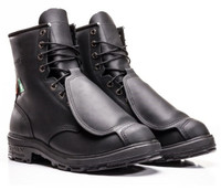 Royer Leather Steel Toe Boot With Metatarsal Protection