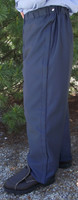 FR9B 8.5 oz pants are rated (ATPV 8.1 CAT2) or Oasis™ 10 oz. pants are rated (ATPV 6.5 CAT1), and are Navy in color.