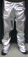 Our Aluminized open back chaps offer full calf coverage that secures with heavy duty hook & loop closures.