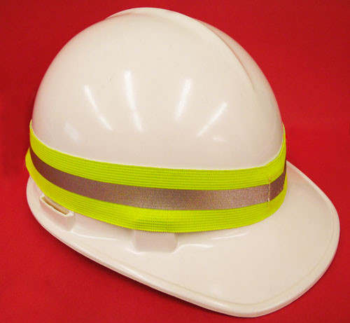 Hard Hat Hi-Visibility Reflective Safety Band Snappy Strap