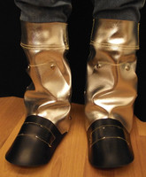 """16"""" AL or ACK leg/boot spats available with or without built in spring steel supports have stay-in-place anchors."""