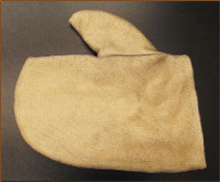 DuPont™ Kevlar®, PBI, or Vertex® stainless steel mesh overlay mitt covers.