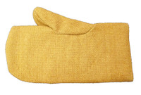 """Reversible fire resistant PBI 14"""" mitt with 100% wool liner"""