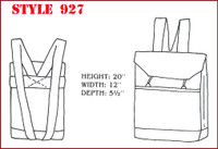 Heavy Duty Back Pack Style Tool Bag