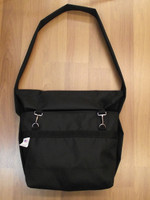 Mining Tool Bag made of Heavy Duty Black Polyester and a Double Layer bottom for added strength.
