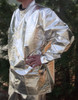 """33"""" Fire resistant aluminized coat made from 3B"""
