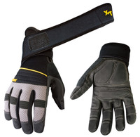 The Youngstown Anti-Vibe XT Glove has a unique 360° wrist wrap offering unrivaled wrist support while also relieving tension throughout your forearm, elbow and shoulder.