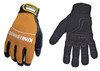 The Youngstown Tradesman Plus glove is a dexterous and comfortable medium duty glove featuring a double layer synthetic sued on the padded palm, fingers and thumb.  Idea for construction, automotive, MRO, DIY, plumbing and machine operation.