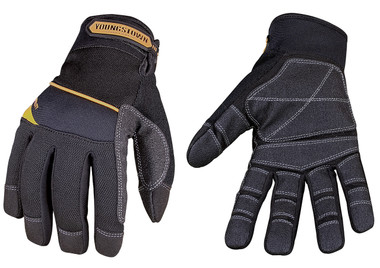 The Youngstown General Utility Plus glove is the ideal all purpose, abrasion-resistant performance work glove.  Featuring heavy duty non-slip reinforcement on the palm and fingers for superior durability and grip.  The ergonomic design form-fits to the hand, helping to reduce fatigue while retaining comfortable dexterity.