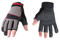 The Youngstown Carpenter Plus gloves feature unparalleled dexterity by way of its shortened thumb, index and middle fingers.  Handling nails, screws, wire and other small items won't slow down your performance or productivity.