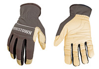 The Youngstown Hybrid Plus glove is an awesome fusion of traditional leather and high performance synthetic materials, all double stitched into a dexterous and durable performance work glove.