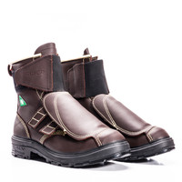 """Royer Boots 8"""" Metallurgical Industry Boots will keep you comfortable and safe.  Made of whole-grain leather and sewn with Flame Resistant DuPont™ Kevlar® thread."""