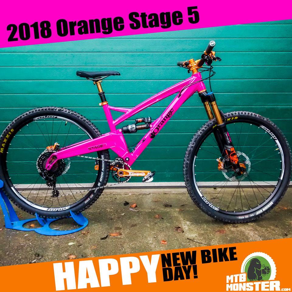 Orange Bikes Stage 5 Custom Build