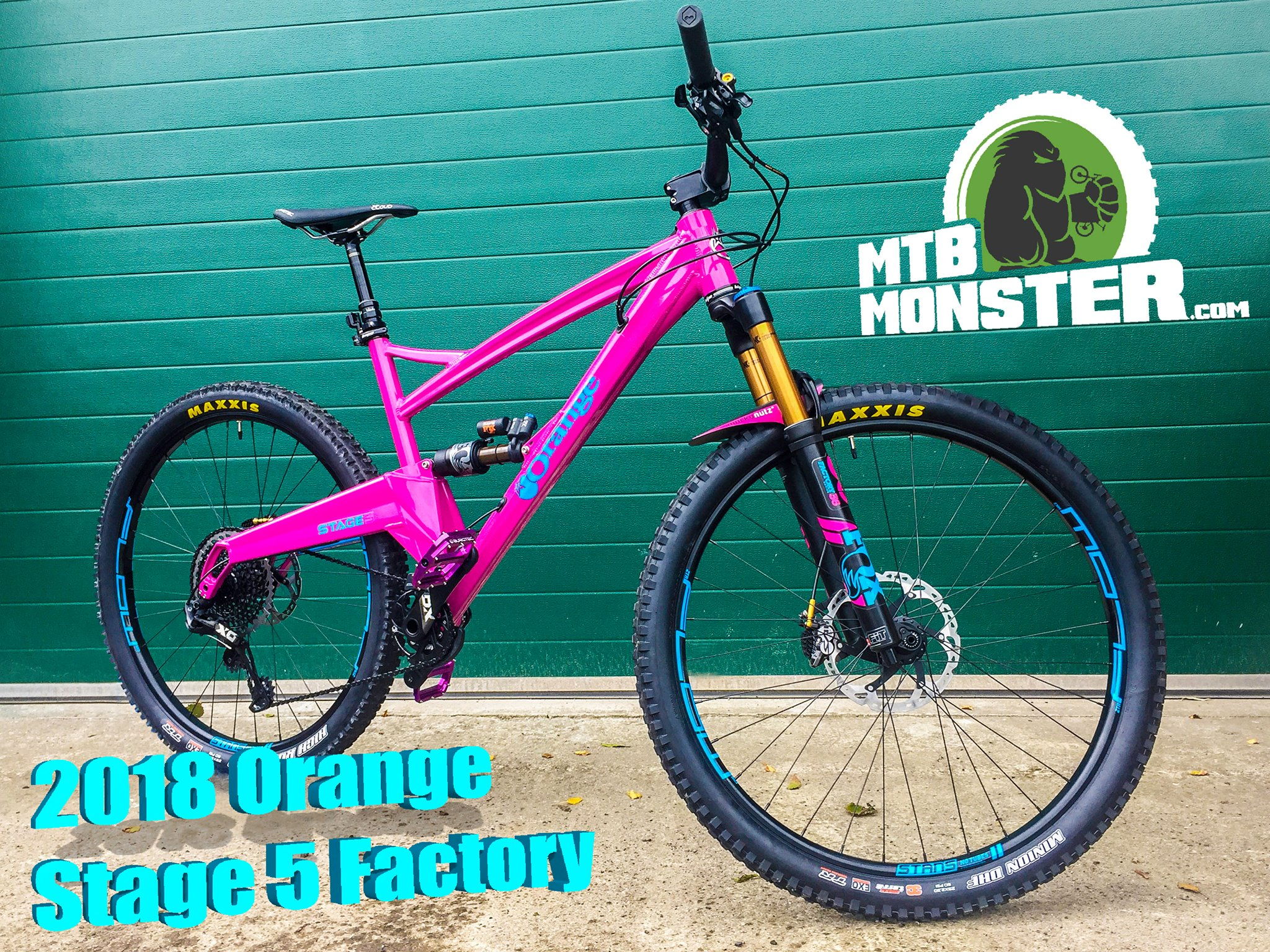 Orange Bikes Stage 5 Factory Custom Build
