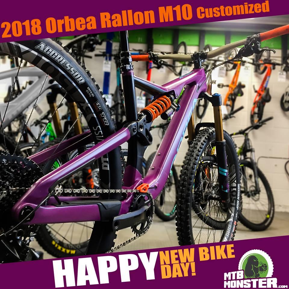 Orbea Bikes Rallon M10 Custom Build