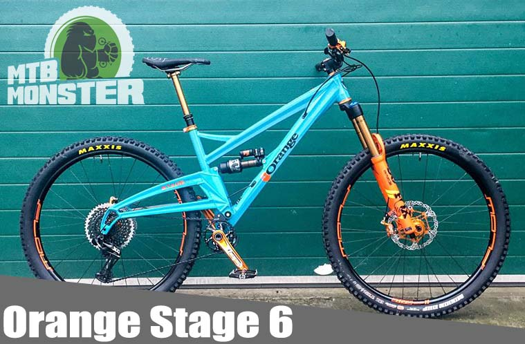 Orange Stage 6 Factory Custom Build