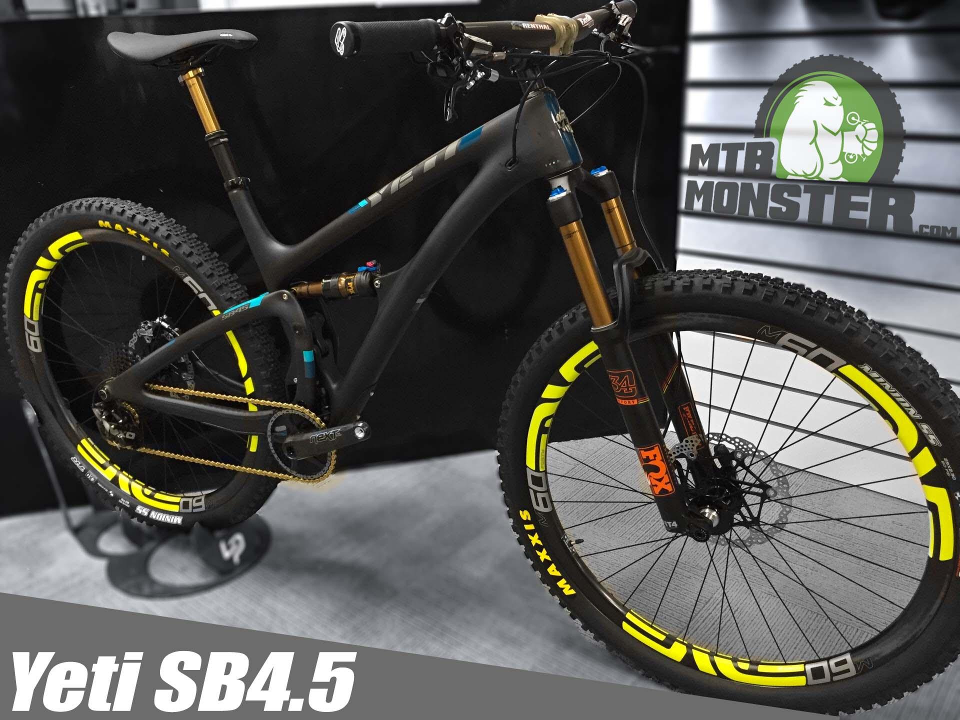 Yeti SB4.5 X01 Custom Build
