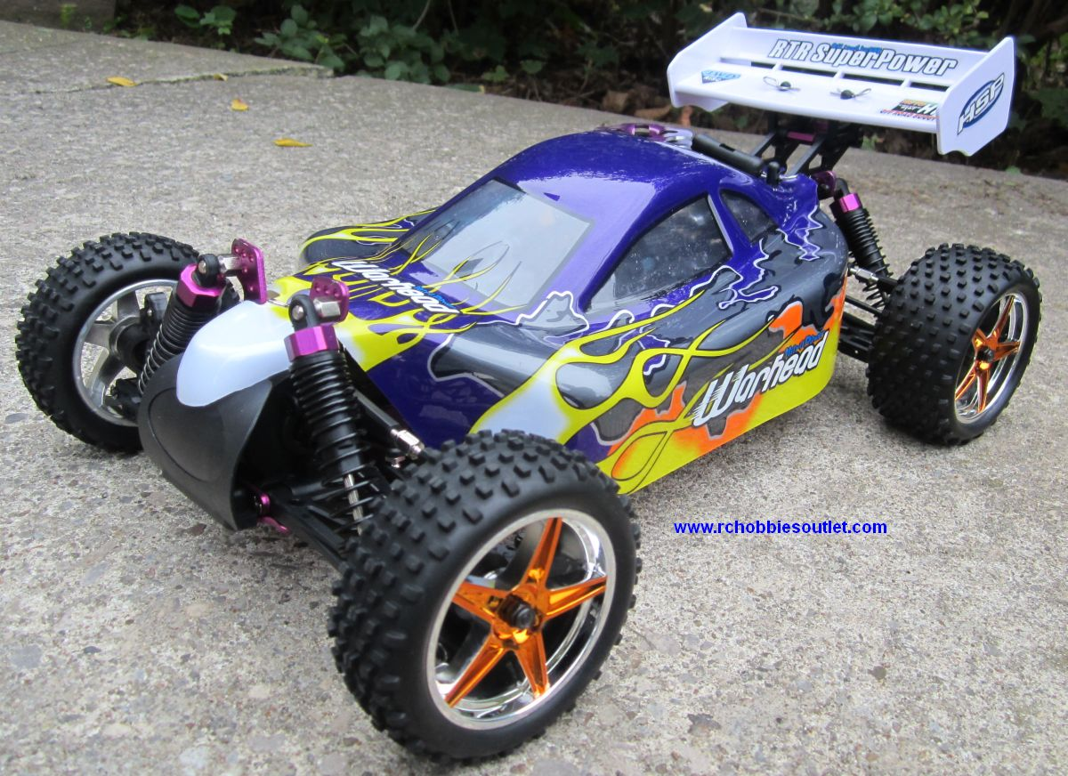 RC Nitro Buggy / RC Car HSP WARHEAD 2 Speed 2.4G 1/10 RACE