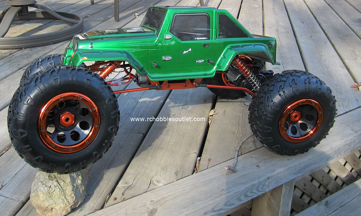 rc rock crawler truck 1 8 scale t2 rtr 4x4 2 4g 4 wheel. Black Bedroom Furniture Sets. Home Design Ideas