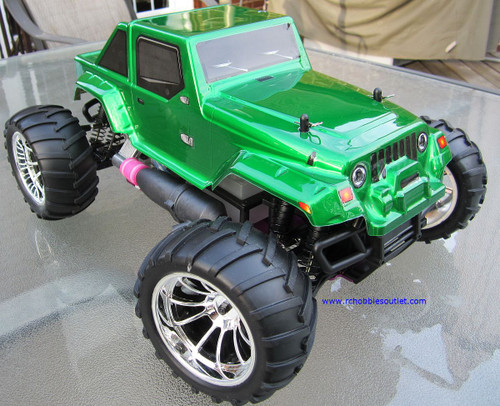 RC NITRO GAS MONSTER TRUCK HSP 1/10 CAR 4WD RTR 12111-N