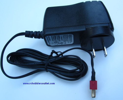 7.2 VOLT NIMH RC BATTERY CHARGER  1000mA T Connector