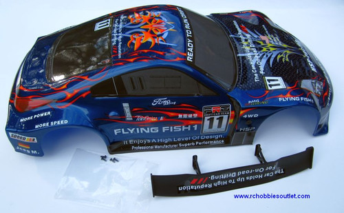 12307 HSP  RC CAR 1/10 SCALE BODY SHELL