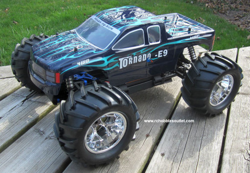 Brushless electric RC truck