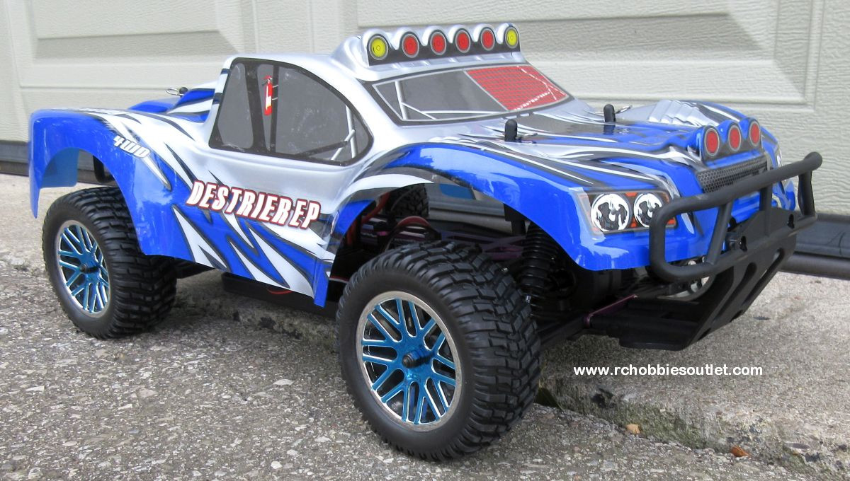 RC Short Course Truck Brushless Electric 1/10 LIPO 4WD 2 4G