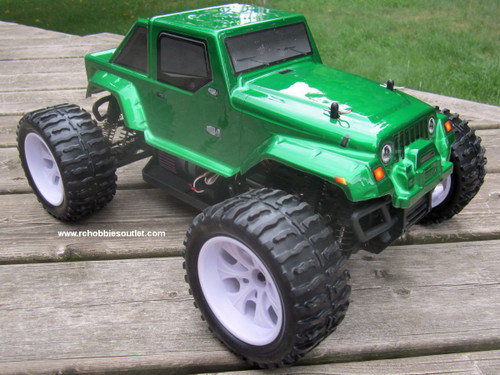 RC Electric Truck Jeep 1/10 Scale 4WD Off Road RTR  10315