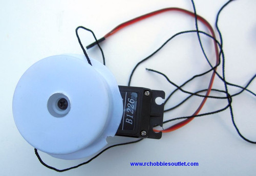 Sailboat Sail Servo and Drum for Monsoon and Legend
