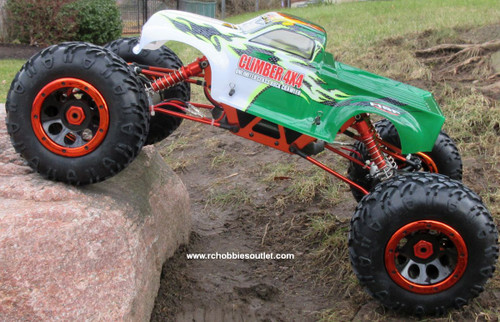 RC Rock  Crawler Truck 1/8 Scale T2   Electric 4 Wheel Steering 4WD  2.4G 48801
